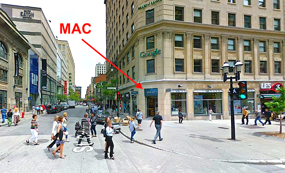 Photo: Google Street View. Click image for interactive experience.