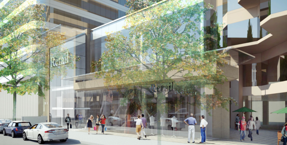 Alberni Street Rendering: Kingswood Capital