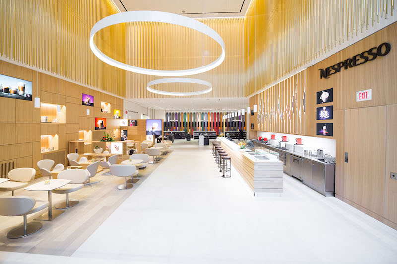 Nespresso's 14,122 square foot Toronto Cumberland Street 'boutique-bar' is arguably one of the most attractive retail spaces in Canada. Photo: Nespresso
