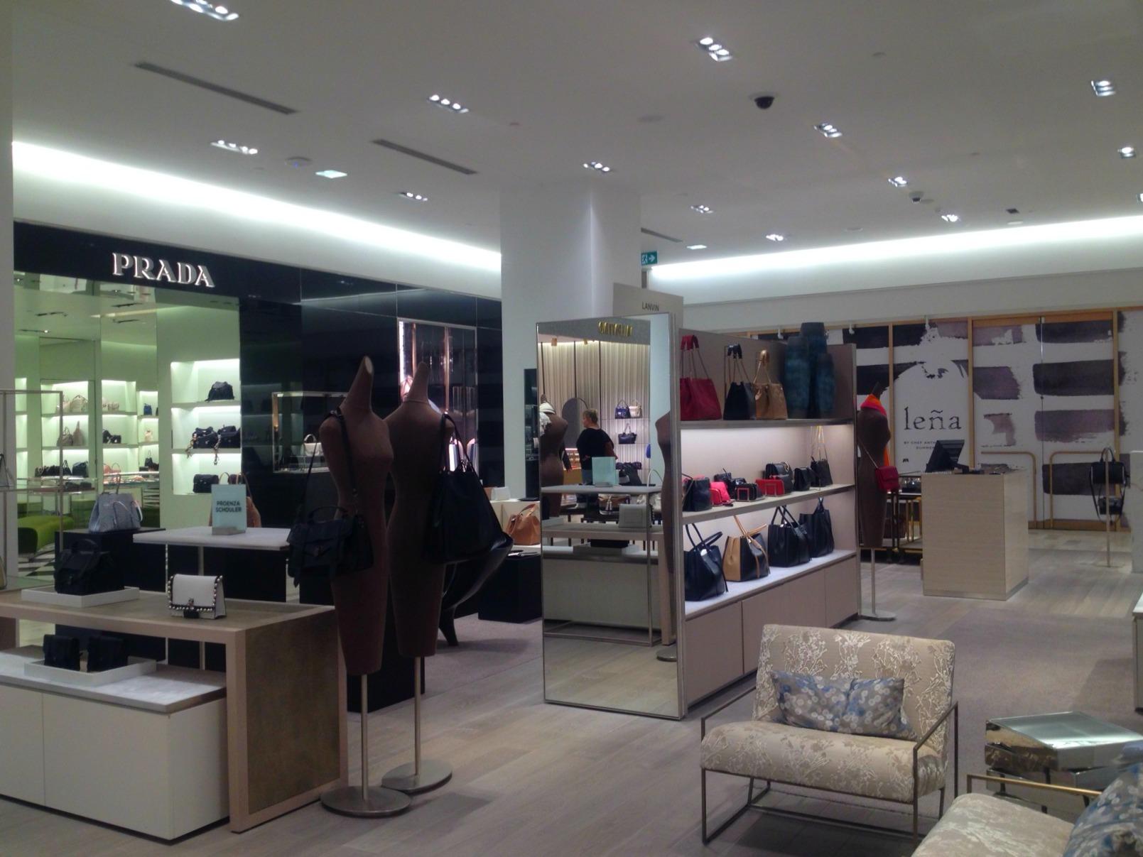 Prada is located beside Oliver & Bonacini's 3-level restaurant concept, Leña, opening soon.