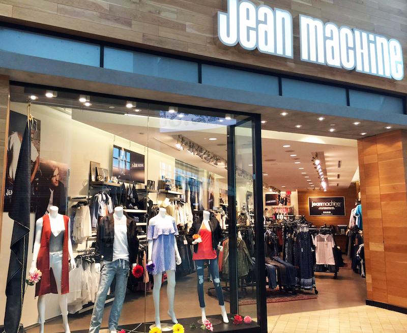 Yorkdale store. Photo: Jean Machine