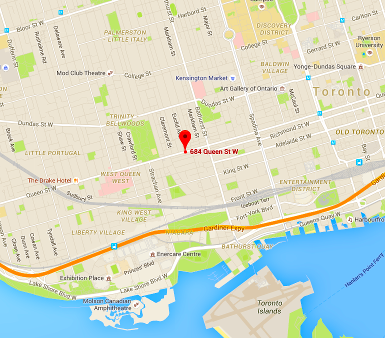 Click for interactive Google Map