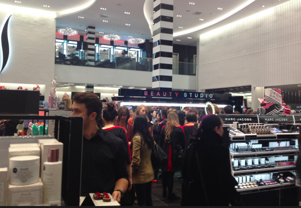 Inside the Vancouver Robson Street flagship that opened in late 2014. Photo: Sephora