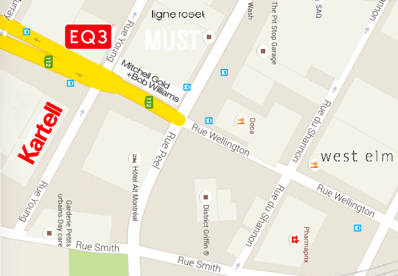 Click image for interactive Google Map. Edits by   Maxime Frechette
