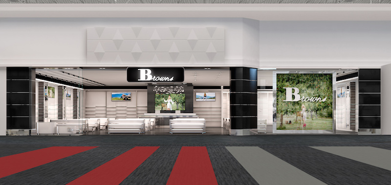 Rendering of the Vaughan Mills store, which is seeing an expansion this summer.