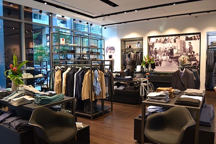 Inside the Vancouver store. Photo: Helen Siwak (@helensiwak)