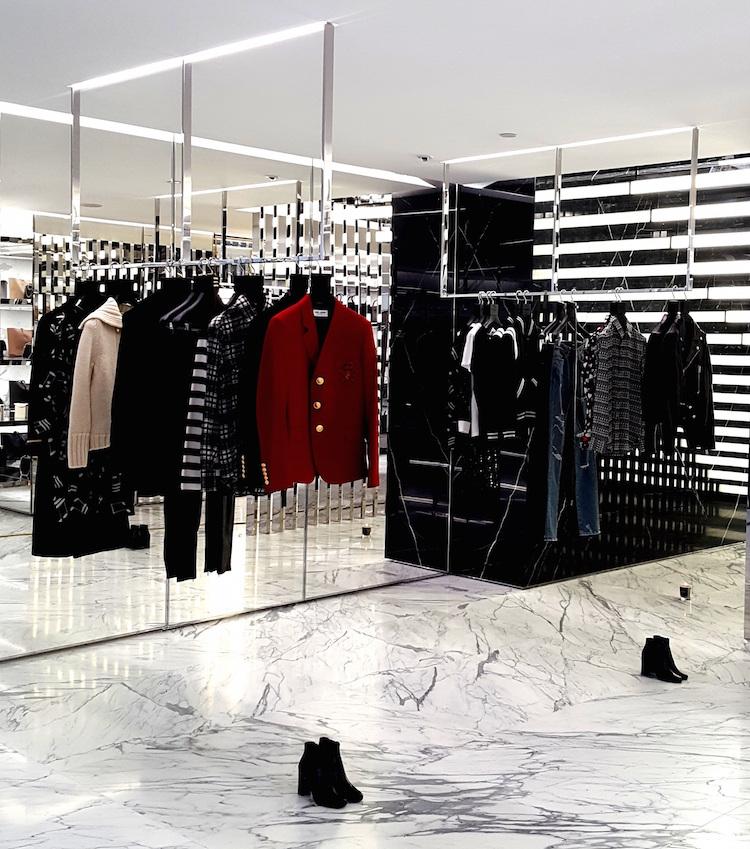Women's fashions on the store's ground floor.Photo: Helen Siwak (@helensiwak)