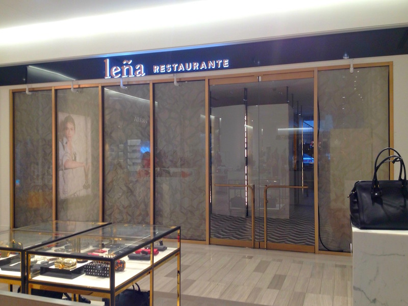 Internal Entrance from Saks' ground-floor accessories hall.