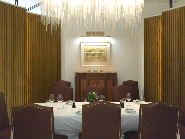 Private dining alcove. Photo: Mark Ainley