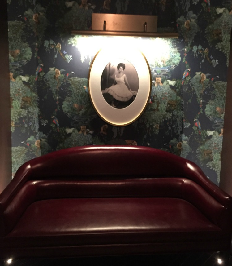Photo of Elena near the lower-level washrooms. Photo: Mark Ainley