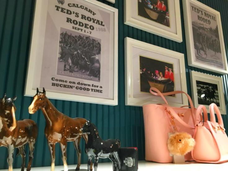 Rodeo-themed display.Photo: Ryan Massel