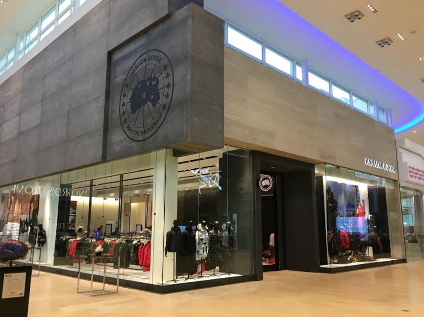 First Canada Goose store in the world.