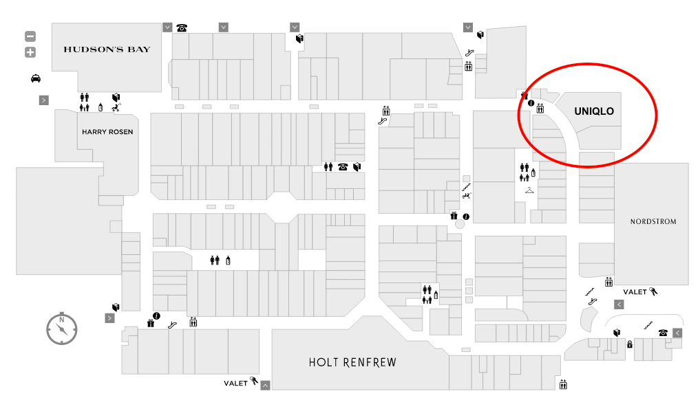 (click above for interactive Yorkdale mall map)