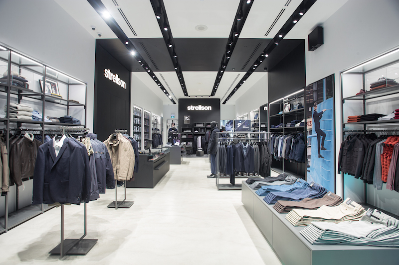 sports shoes 4fa7f e9a5d Inside Strellson's New Yorkdale Store [Photos]