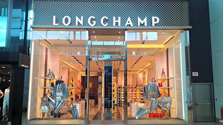 (Longchamp at Toronto's Yorkdale Shopping Centre. Photo: Paul Amato)