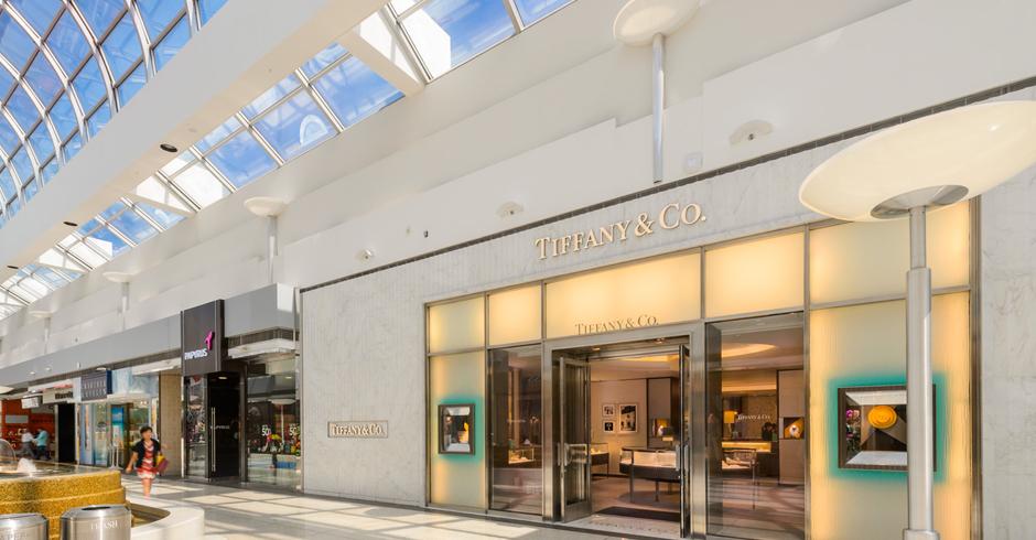 (Tiffany & Co.at Vancouver's Oakridge Centre. Photo: Ivanhoé Cambridge)