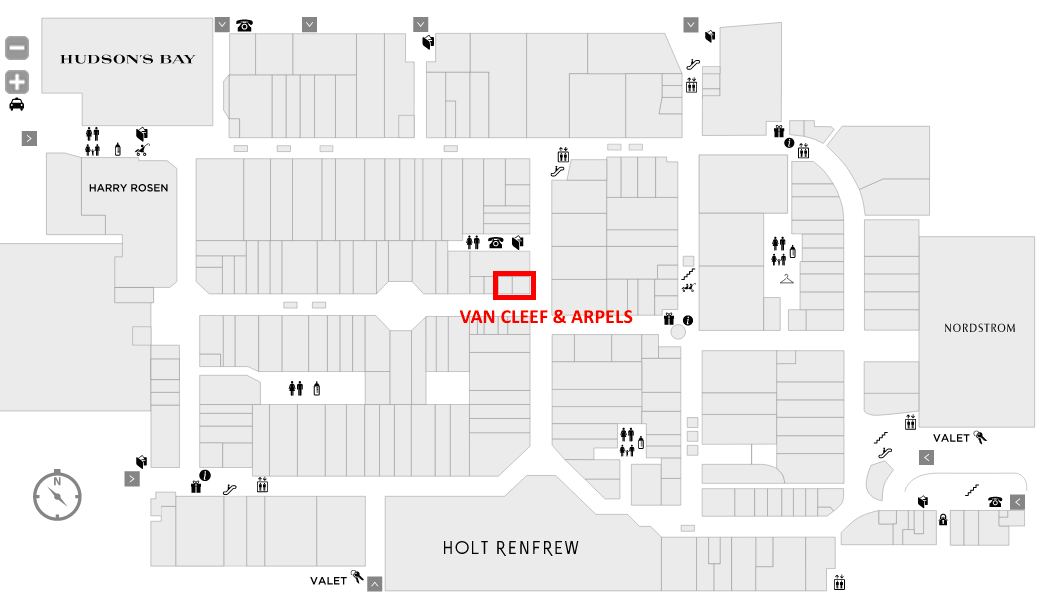 (Click above or below for interactive Yorkdale mall floor plan/directory)