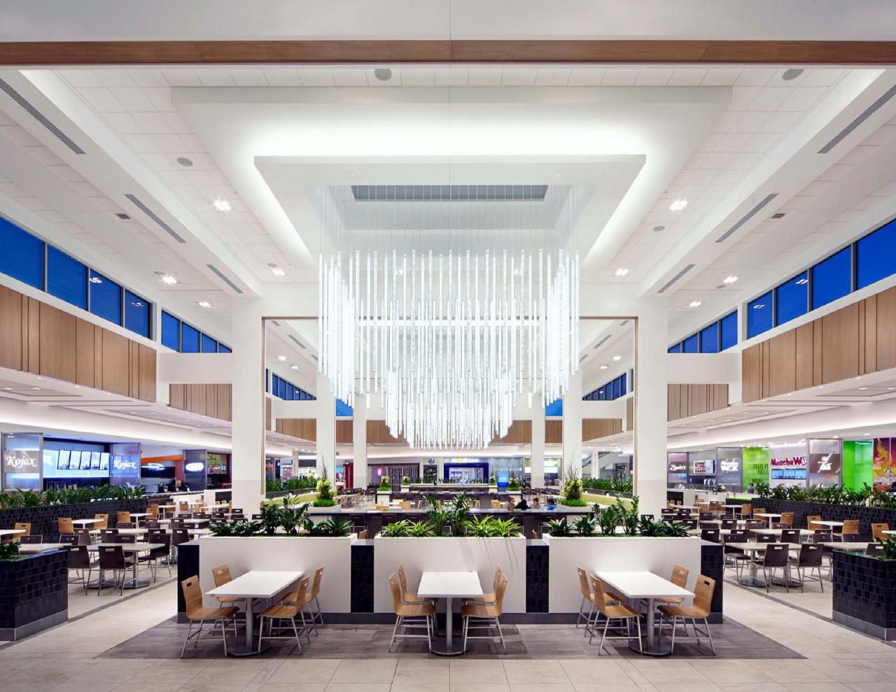 (CF Galeries d'Anjou food court. Photo: Cadillac Fairview)