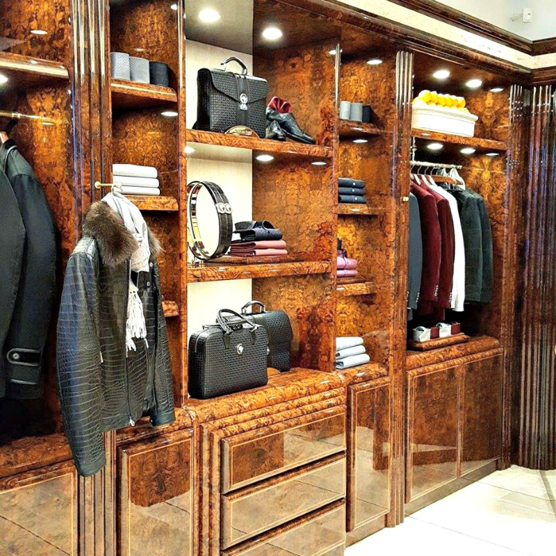 (Crocodile skin jacket, priced at about $150,000)