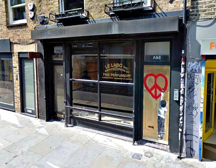 (London store. Photo: Google street view screen capture)