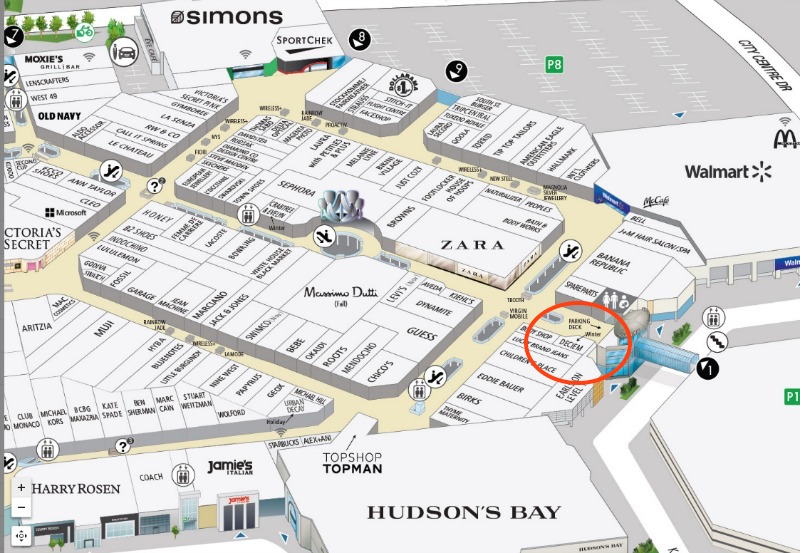 (click image for full square one mall map)