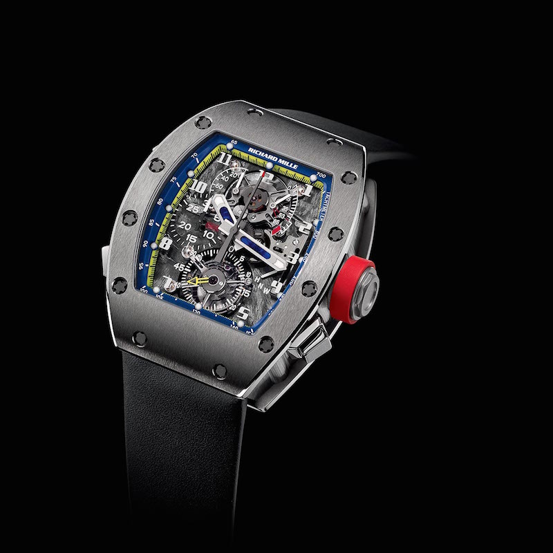 ( Tourbillon RM 008 , photo via Richard Mille)