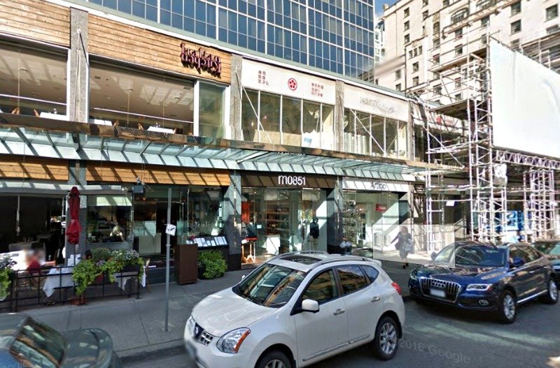 (click above for interactive google street view of vancouver's alberni street 'luxury zone')