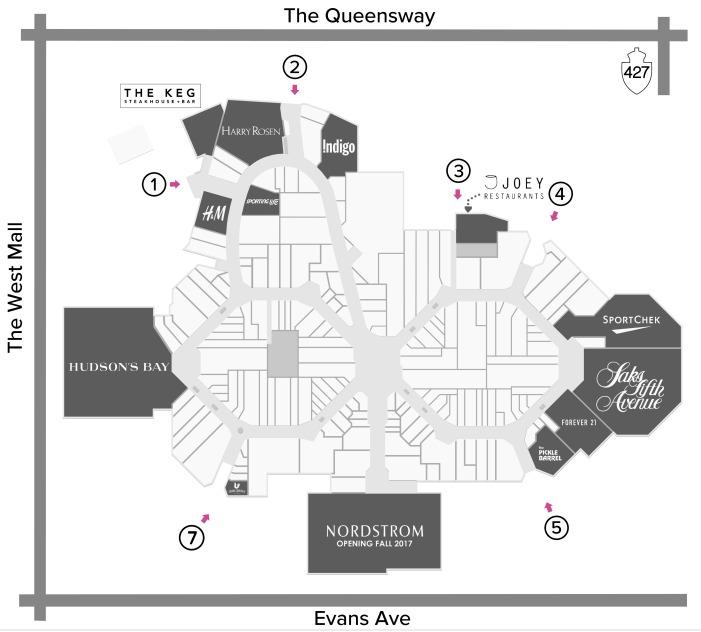 (click for interactive cf sherway gardens mall floor plan)