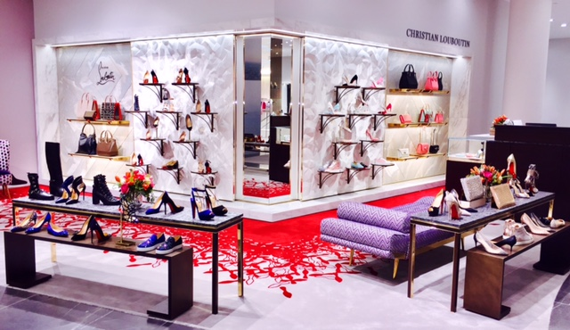(christian louboutin recently opened a boutique within the women's shoe floor. photo: christian louboutin)
