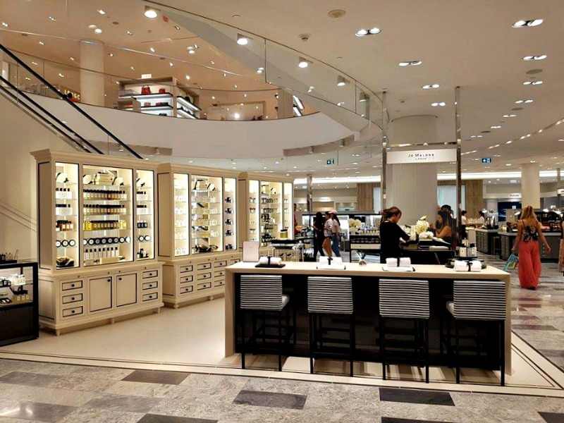(another view of the jo malone boutique. Photo: Ritchie Po)