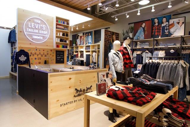 comprare popolare 3bff8 479e2 Levi's Expands Customization 'Tailor' Concept Stores in Canada
