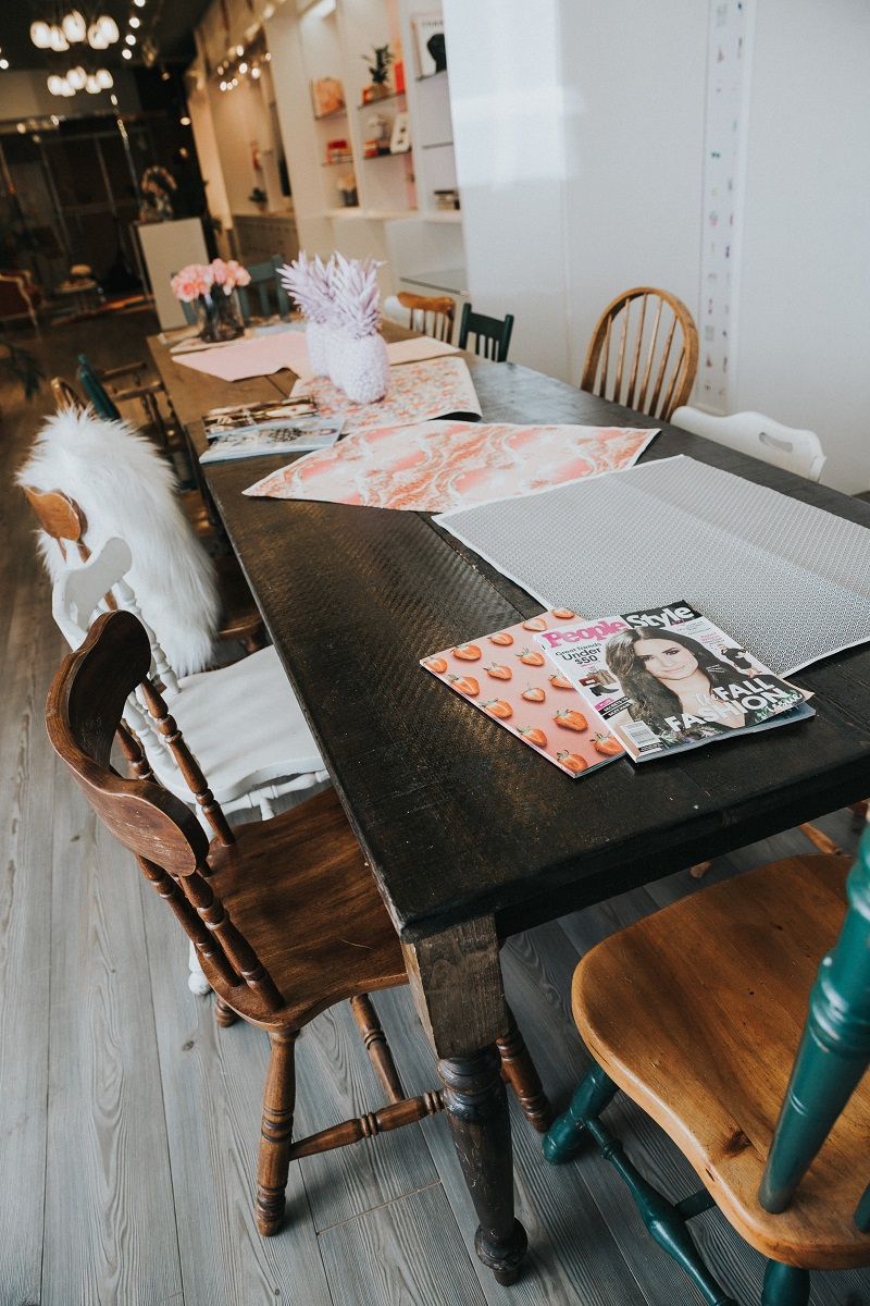 (Whimsical furniture adds character to the space,Photo: Bayview Village)