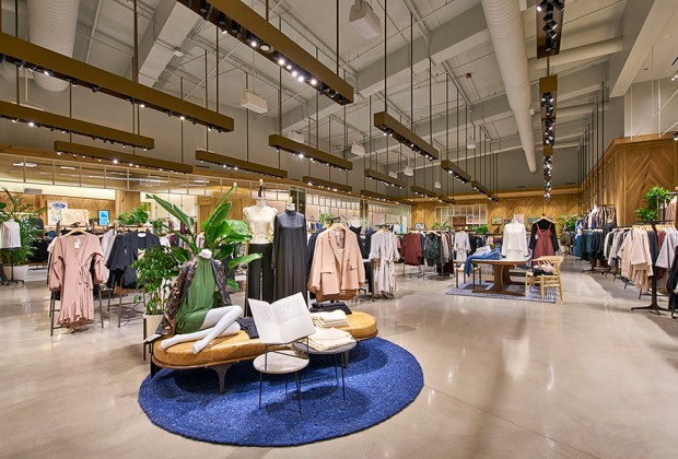 (Inside the new chicago gold coast aritzia. Photo: supplied)