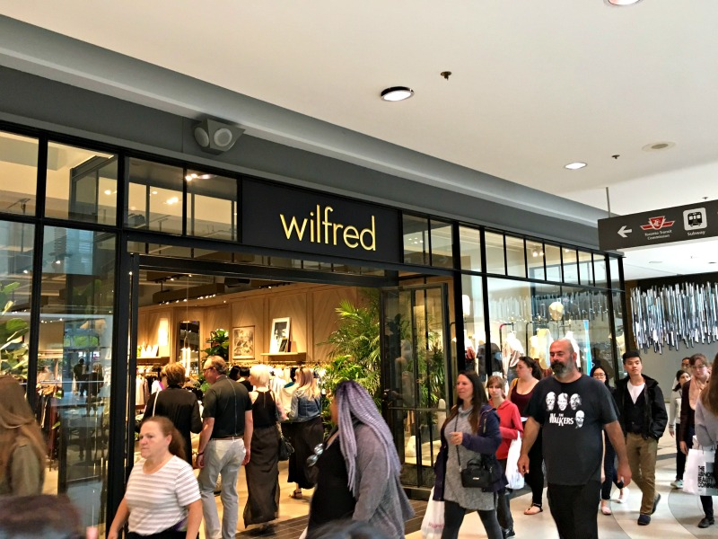 (Wilfred's new, larger location at CF Toronto Eaton Centre. PHoto: Craig Patterson)