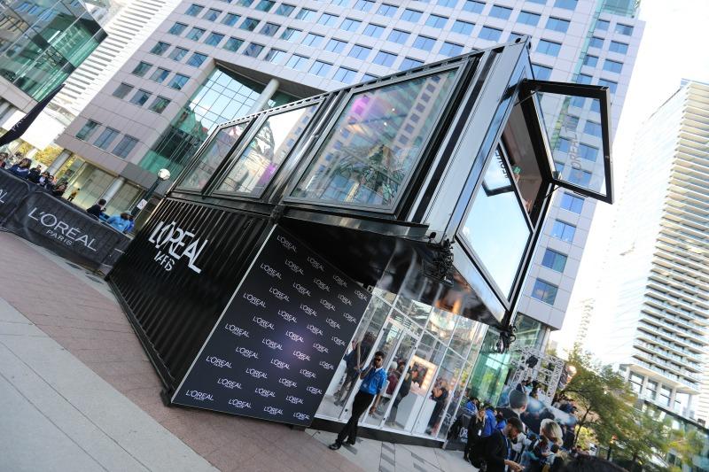 (Loki Box Design's L'oreal installation. Photo: Loki Box Design)