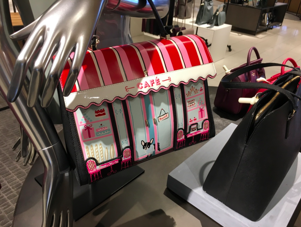 (Kate spade is one of several contemporary designers carried in the new store)