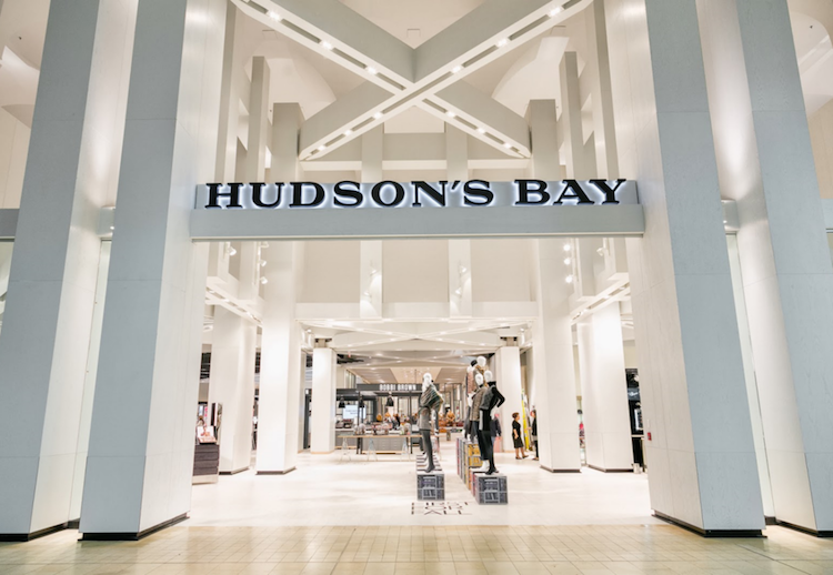 (Hudson's Bay, Yorkdale shopping centre. Photo: Hudson's Bay co.)