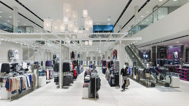 (La Maison Simons at galeries d'Anjou in Montreal. Photo: Simons)