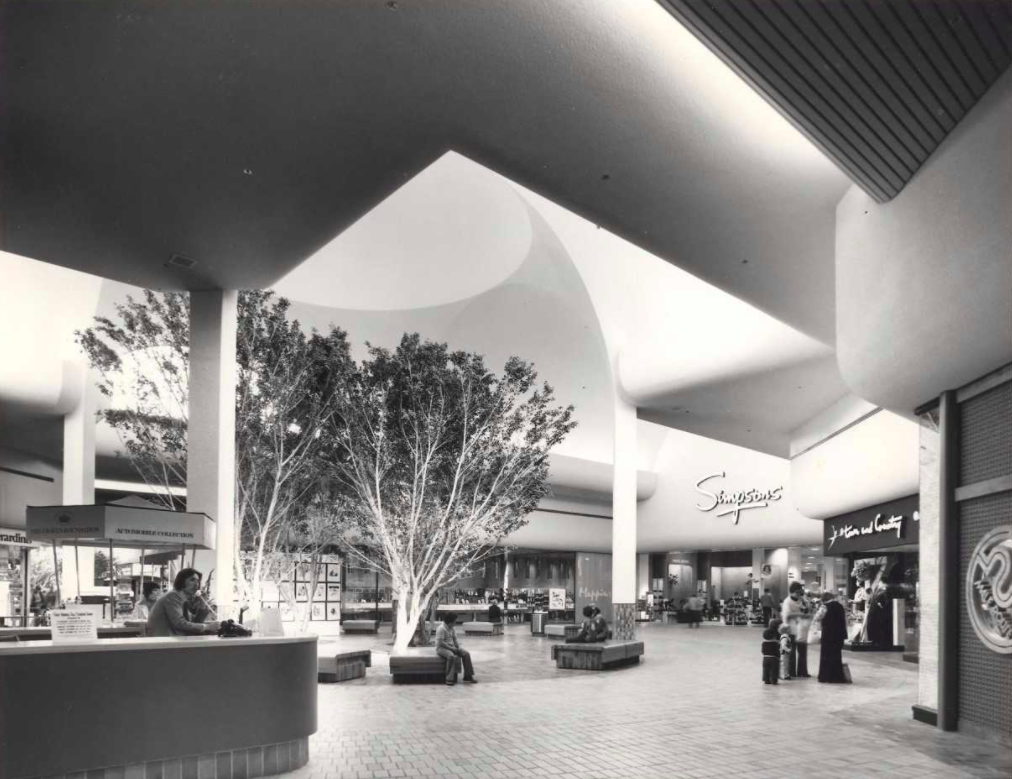 (earlier days at Hillcrest, near the mall's upscale Simpson's department store)