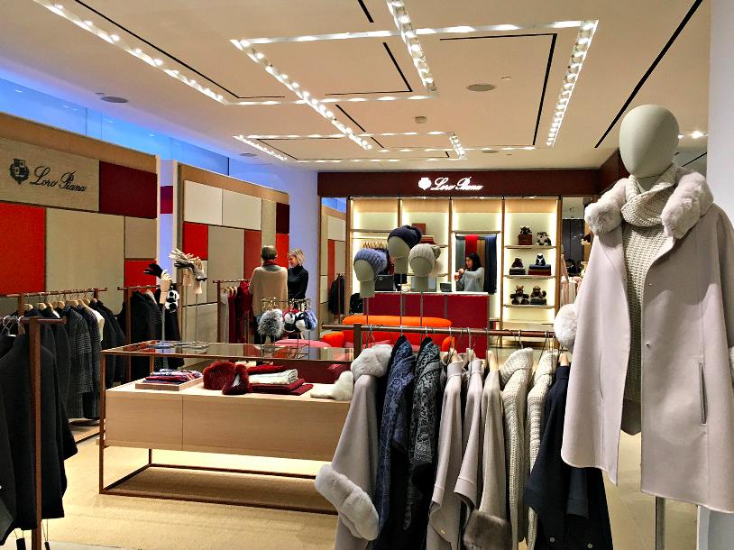 (Toronto boutique on the ground floor of Holt Renfrew, Toronto. Photo: Craig Patterson)