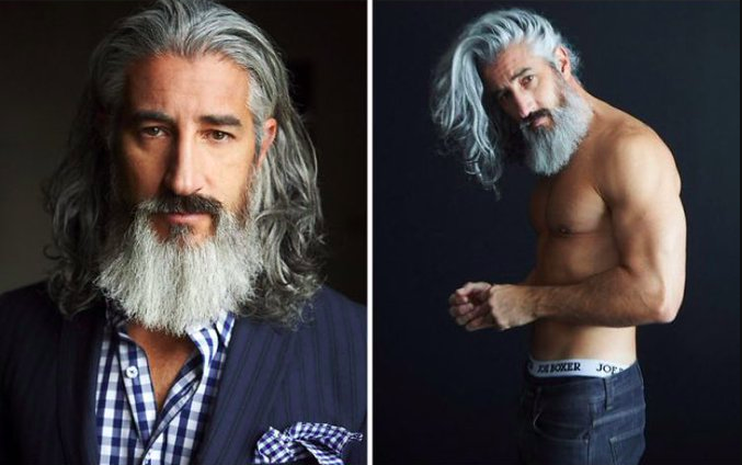 (This year's Yorkdale 'Fashion Santa' will be played by model Jack foley)