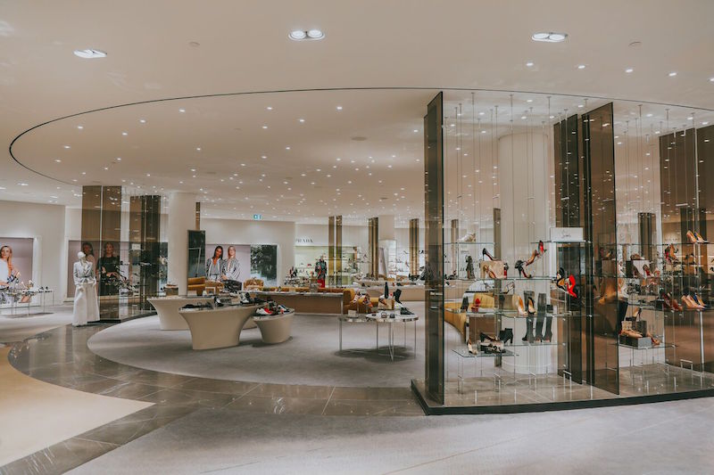 (Women's shoe floor at Holt Renfrew in Vancouver. Photo: Holt Renfrew)