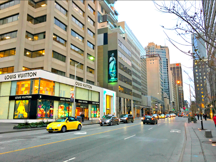 (Bloor St. W. Toronto. Photo: Retail Insider)
