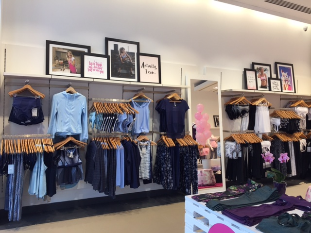 (Inside the CF Shops at Don Mills store)