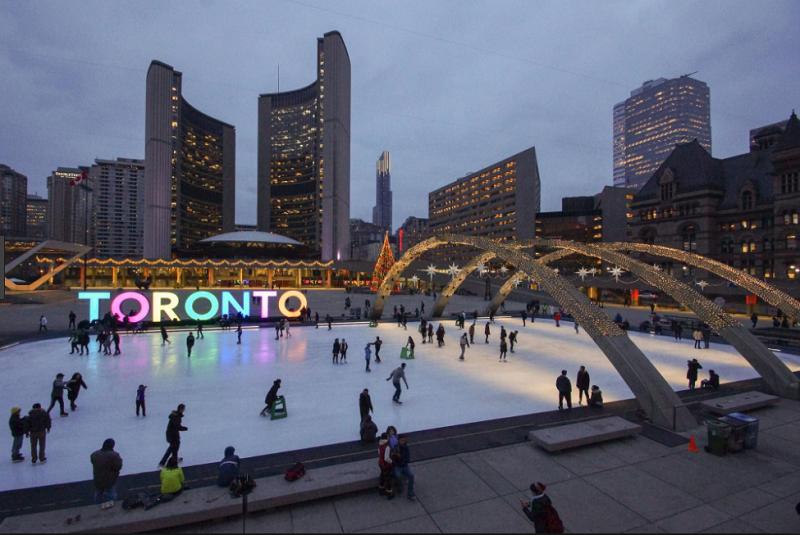 Winter in Toronto. Photo:  Albinger