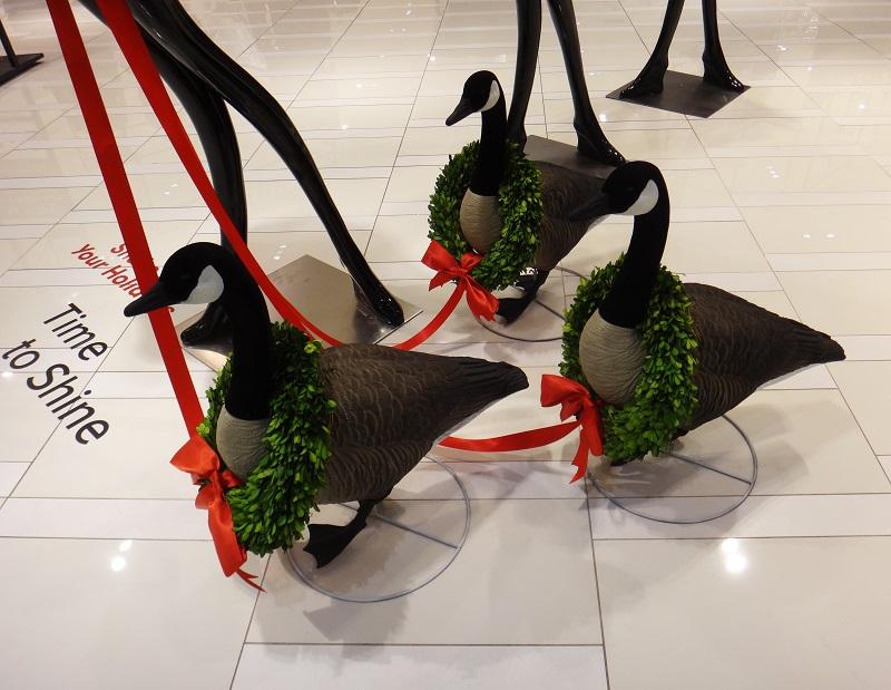 (Woolrich Holiday Display. Photo: Visual Thinking)