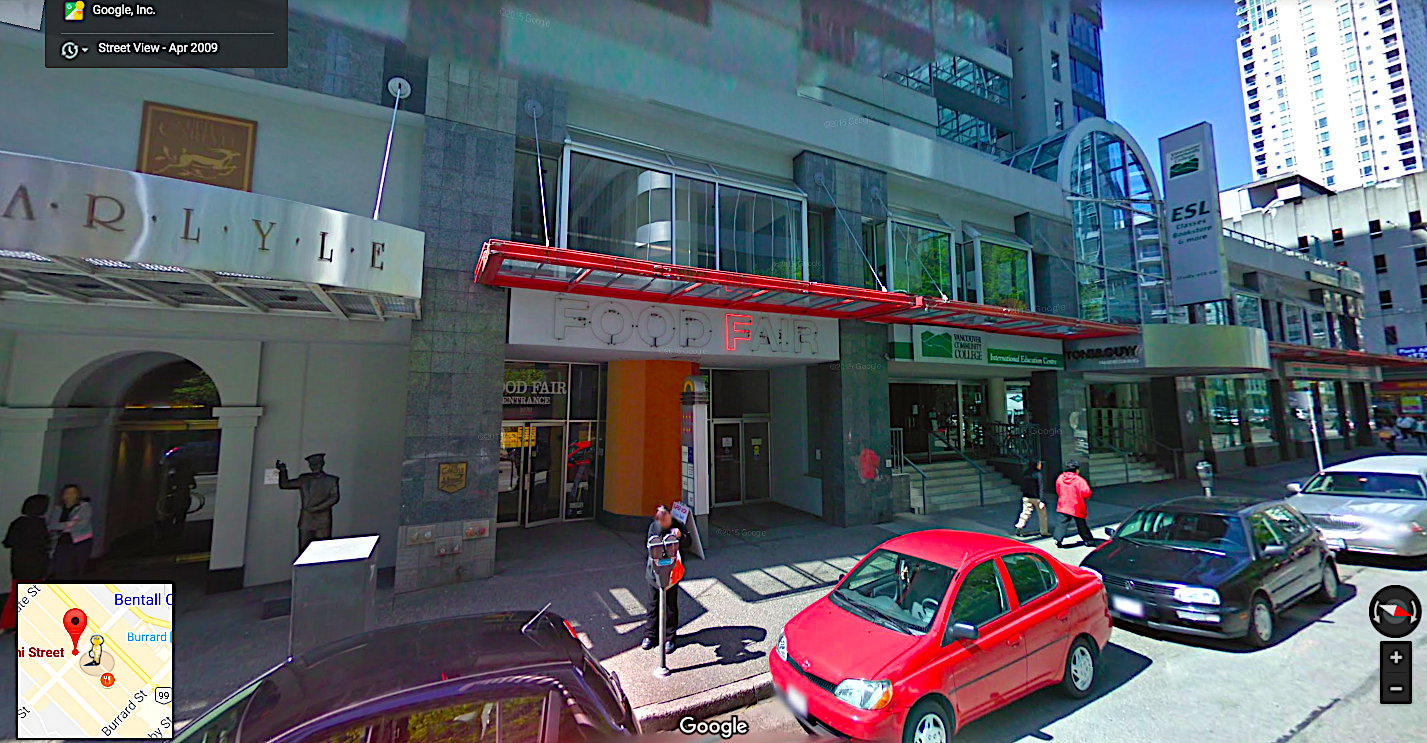 (Things were certainly different in April of 2009 when Google Street View caught this glimpse of The Carlyle)