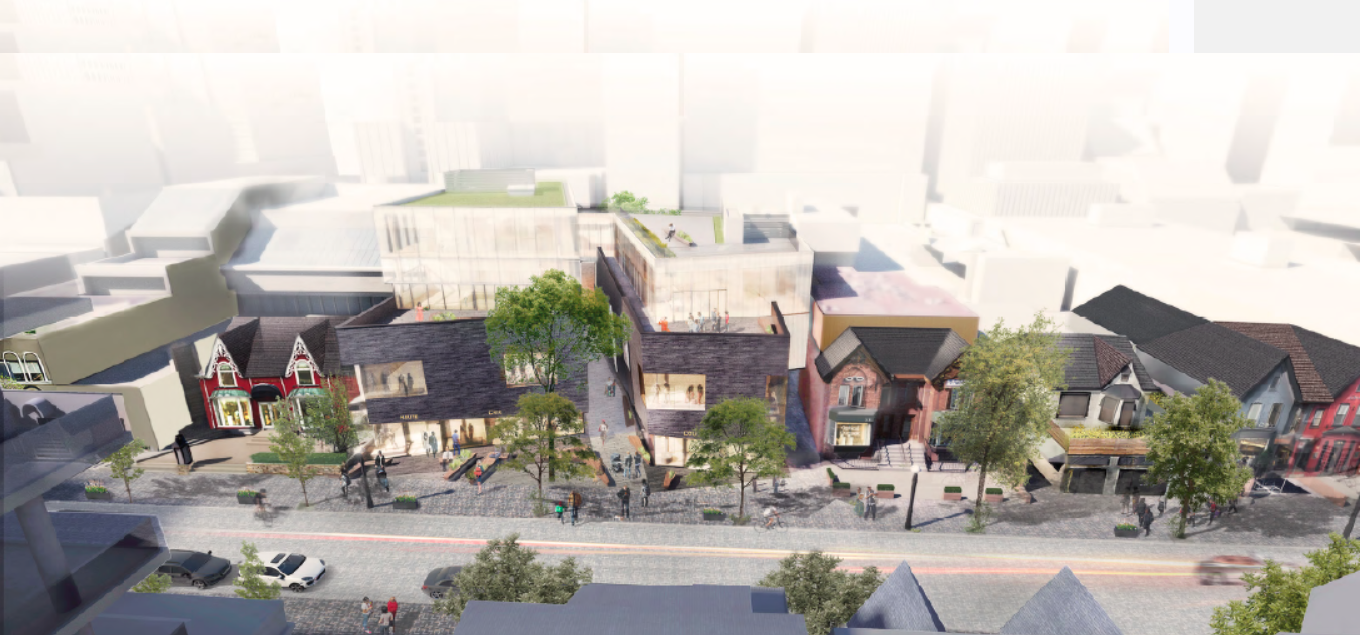 (An overview of the 101 Yorkville Avenue site)