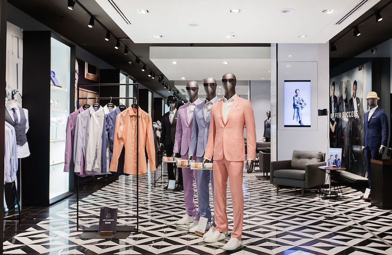 (Indochino Store at West Edmonton Mall)