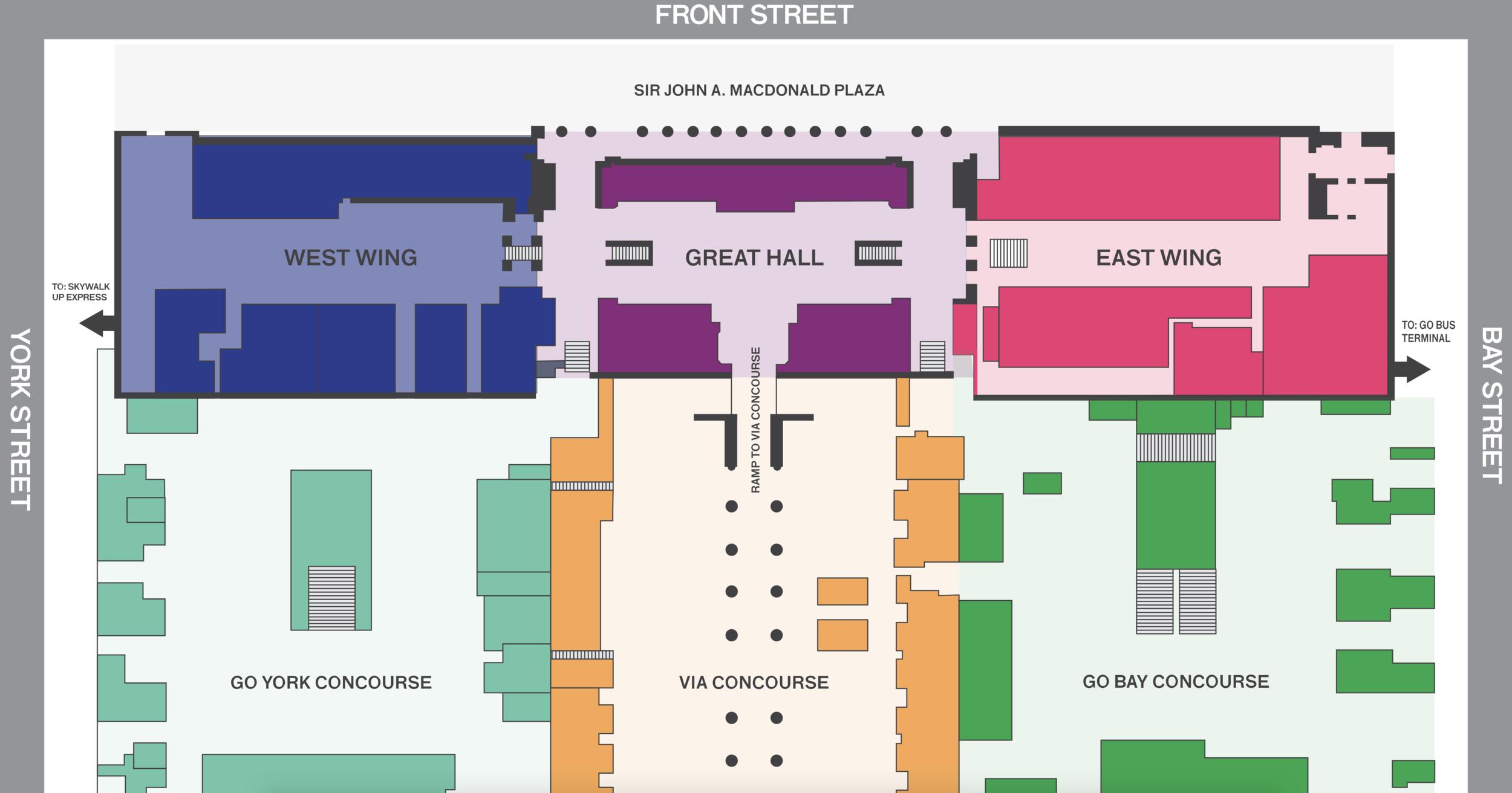 (Street Level Retail Plan)